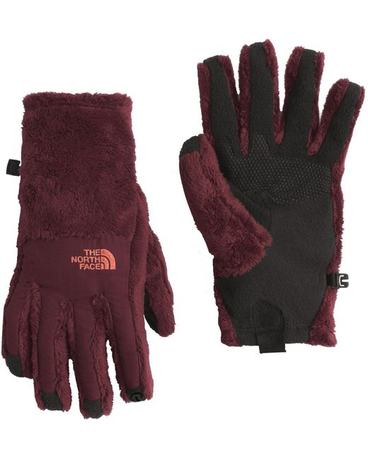 The North Face - Red Denali Thermal Etip Gloves - Lyst