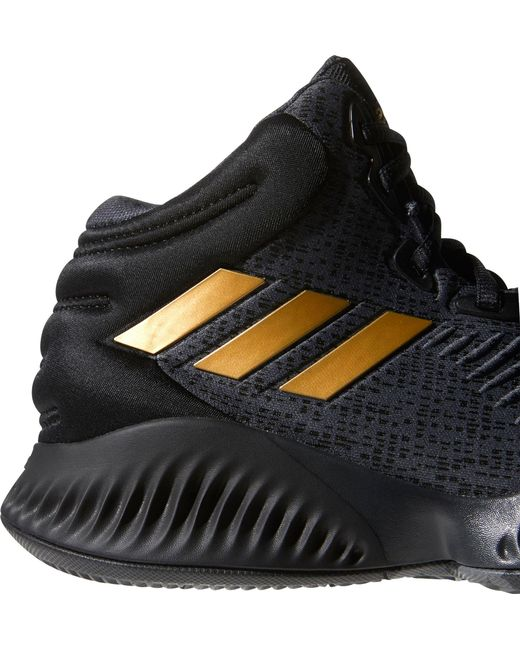 b894db6824465 ... Adidas - Black Mad Bounce 2018 Basketball Shoes for Men - Lyst