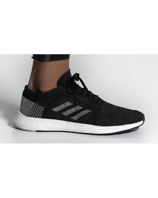e749997710701 ... Adidas - Blue Pureboost Go Running Shoes for Men - Lyst ...