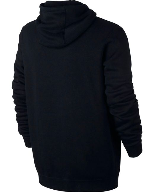320a5ec7b3e6e1 ... Nike - Black Club Fleece Pullover Hoodie for Men - Lyst