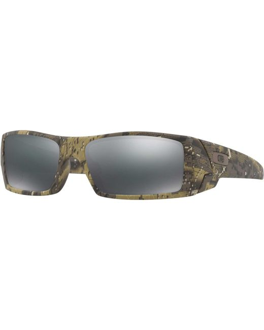a604a86dff ... Oakley - Black Gascan Sunglasses for Men - Lyst