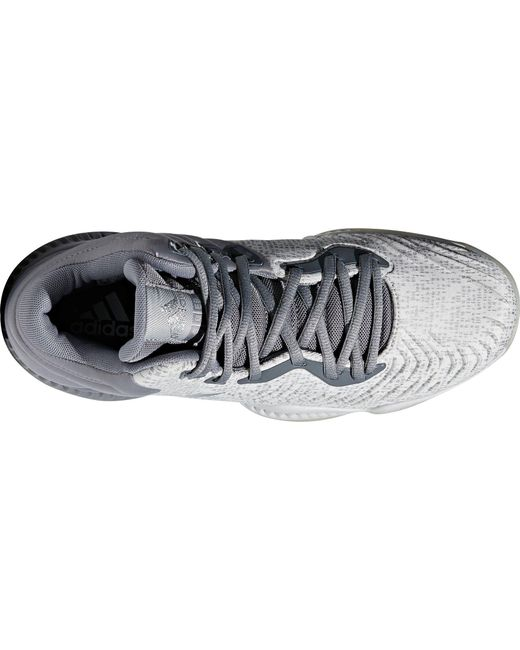 02f259c8970f ... Adidas - Gray Mad Bounce 2018 Basketball Shoes for Men - Lyst ...