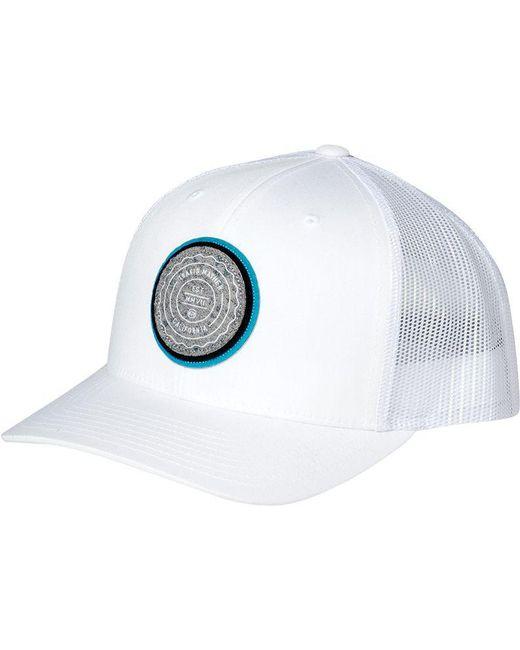 ... Travis Mathew - White Trip L Golf Hat for Men - Lyst a6a3d4bb73de
