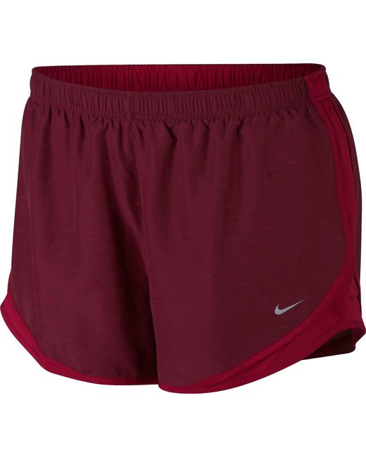 e2664d8d22d Lyst - Nike Plus Size Dry 3   Tempo Running Shorts in Red for Men