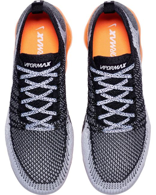 687f83ce8ca70 ... Nike - Black Air Vapormax Flyknit 2 Running Shoes for Men - Lyst ...