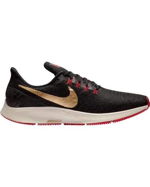 62ad7825c8a Nike - Black Air Zoom Pegasus 35 Running Shoes for Men - Lyst ...