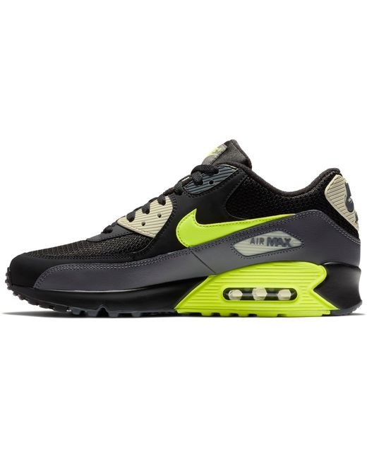 super popular 0d9a5 76c7f ... Nike - Gray Air Max 90 Essential Trainers Black Grey for Men - Lyst ...