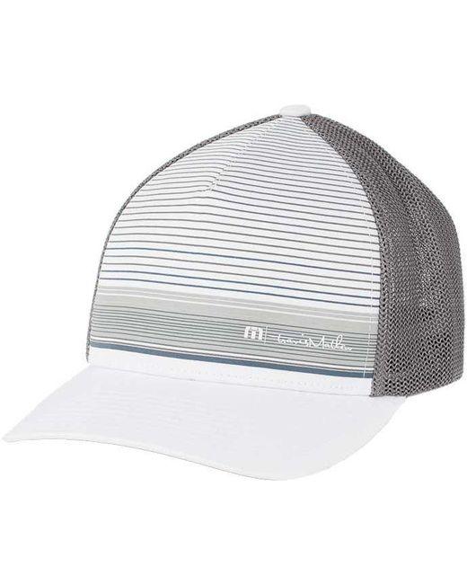 timeless design 98f8b d3942 switzerland travismathew tweele sharkskin caps e3891 4717a  amazon travis  mathew white rown golf hat for men lyst 30ee1 2e0f3
