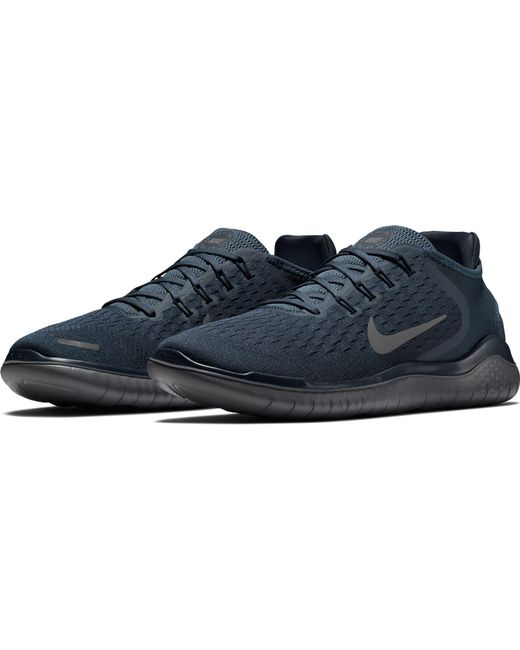 fa21649e322f7 ... Nike - Blue Free Rn 2018 Running Shoes for Men - Lyst ...