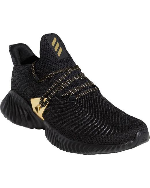 dd40f7422 ... Adidas - Black Alphabounce Instinct Three Stripe Life Running Shoes for  Men - Lyst ...