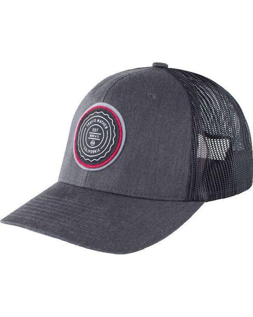 f51fbe426fa Travis Mathew - Gray Trip L Golf Hat for Men - Lyst ...