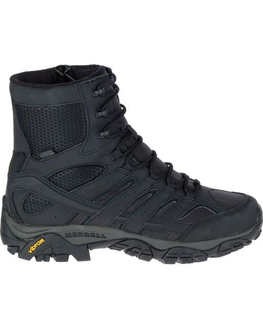 Merrell - Black Moab 2 8'' Waterproof Tactical Boots for Men - Lyst