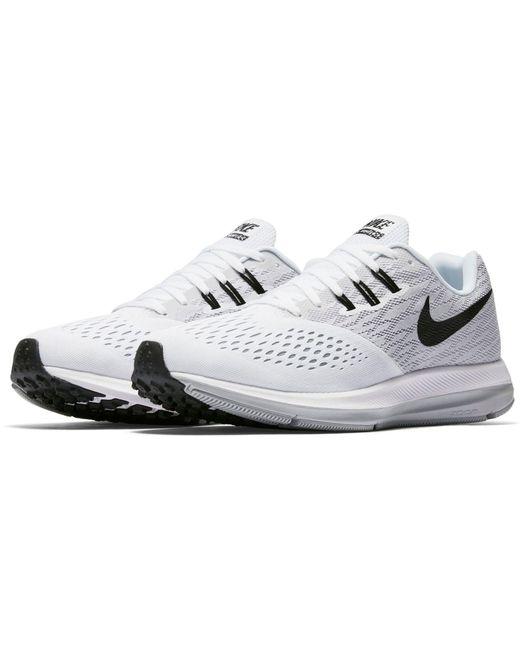 de200ea59b6fd Nike - White Air Zoom Winflo 4 Running Shoes for Men - Lyst