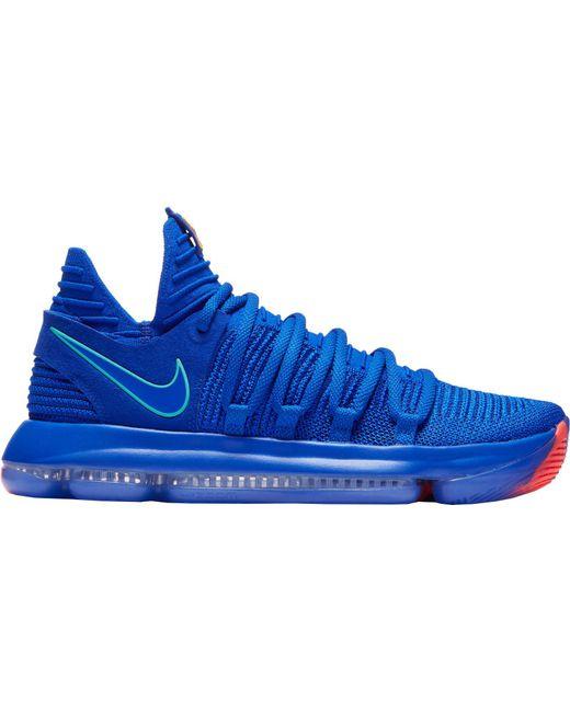 huge discount b97fa 358de Nike Mens Zoom KD 10 Basketball Shoes DICKS Sporting Goods ...