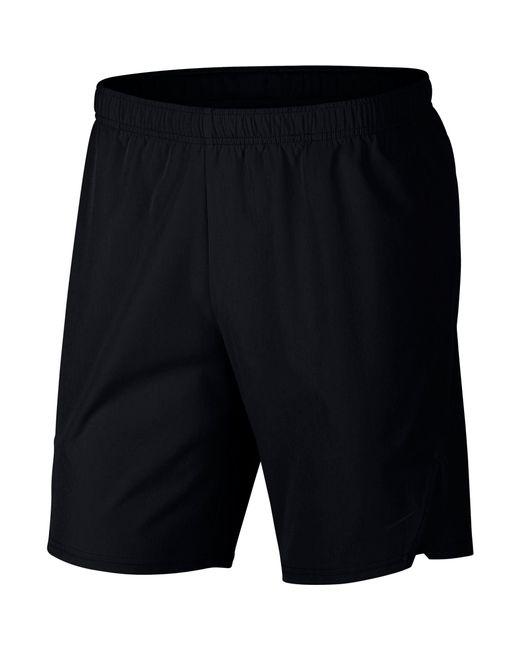 "Nike - Black Court Flex Ace 9"" Tennis Shorts for Men - Lyst"
