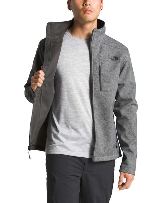 2100897070 ... spain the north face gray tall apex bionic 2 soft shell jacket for men  lyst 36883