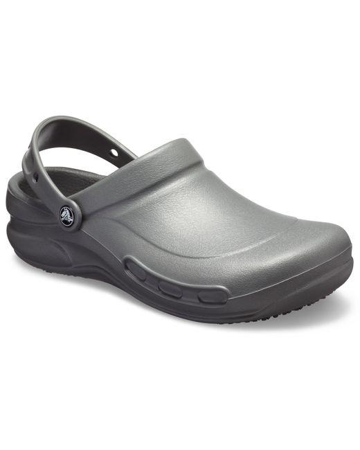 571eedab0d98 ... Crocs™ - Gray Adult Bistro Clogs - Lyst ...
