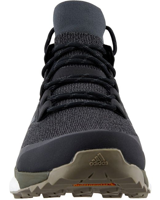 pretty nice 5a2c3 9a148 ... Adidas - Black Terrex Free Hiker Hiking Boots for Men - Lyst ...