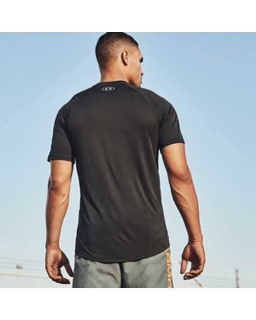 d003325f Lyst - Under Armour Tech T-shirt 2.0 in Gray for Men - Save 24%
