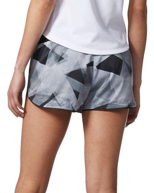 aff0a09d2f964 ... Adidas - Black Supernova Slim Glide Printed Shorts - Lyst ...