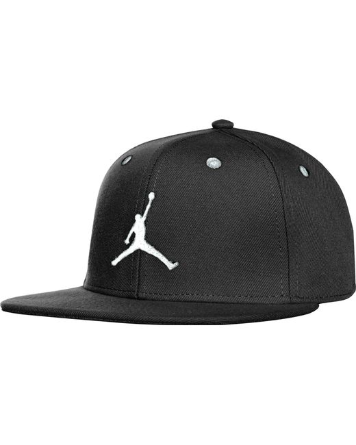 acd328f50fdd5 Nike - Black Oys  Jumpman Snapback Hat for Men - Lyst ...