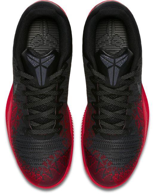 9ad92ebe084 ... Nike - Red Kobe Mamba Rage Premium Basketball Shoes for Men - Lyst ...
