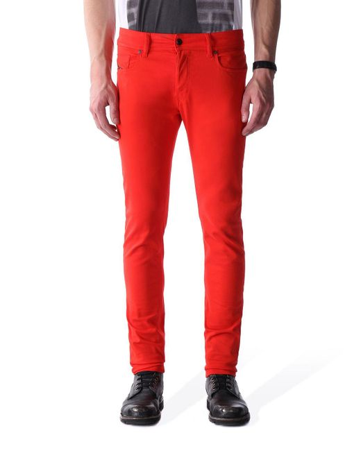 DIESEL | Red Sleenker-a for Men | Lyst