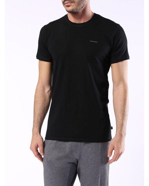 DIESEL - Black Umtee-randal2pack for Men - Lyst