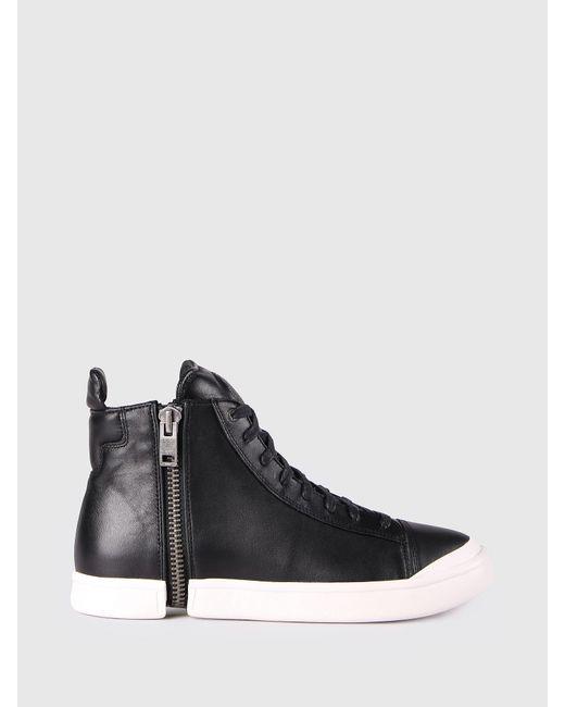 DIESEL - Multicolor Monochrome Sneakers Zip-round Detail for Men - Lyst