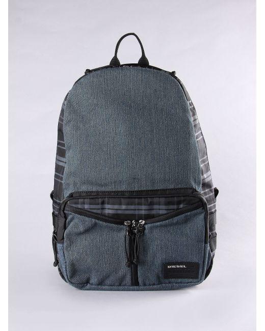 DIESEL | Green Distressed Shoulder Bag for Men | Lyst