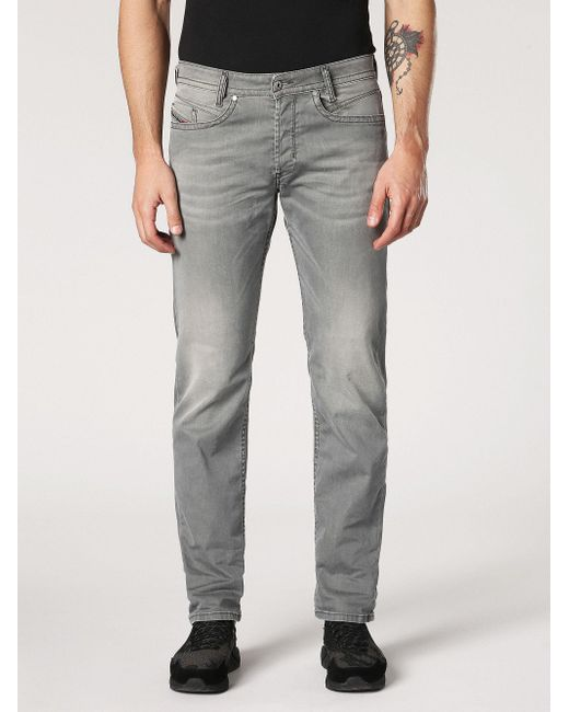 Diesel BELTHER - Vaqueros tapered - 084vh HgZXPR