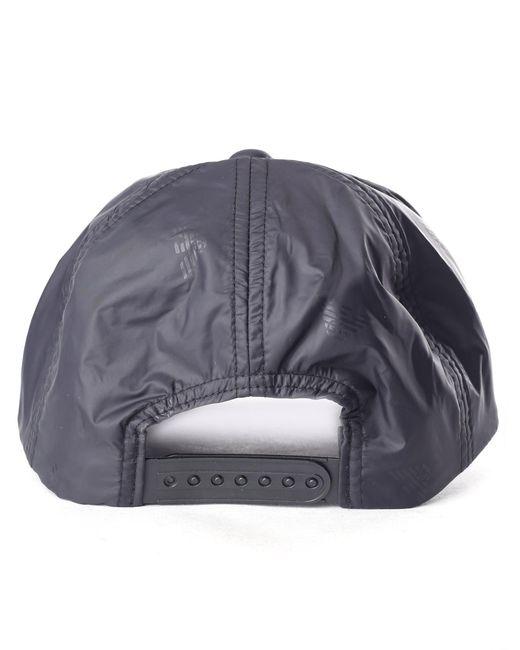 60affccdf61 ... Lyst Emporio Armani - Men s Repeat Logo Baseball Cap Black for Men ...