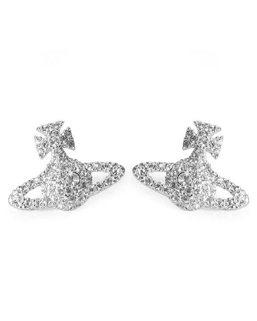 Vivienne Westwood - Metallic Grace Bas Relief Women's Stud Earrings - Lyst