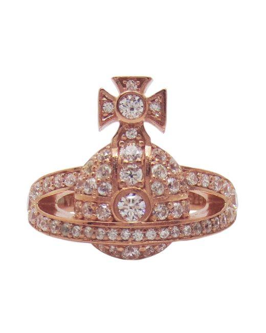 Vivienne Westwood - Metallic Mini Orb Ring - Lyst
