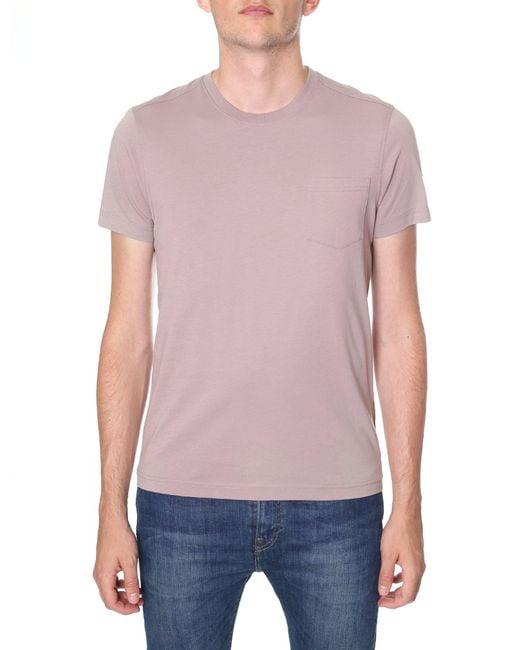Belstaff - Pink New Thom Crew Neck Tee for Men - Lyst