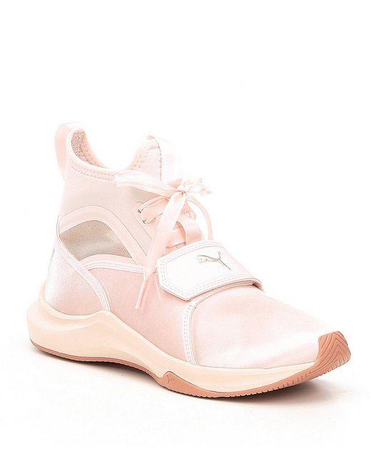 100% guaranteed online cheap sale original Puma Satin High-Top Sneakers tumblr cheap price buy cheap good selling CxmW2