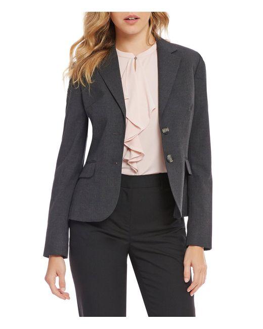 Jones New York - Multicolor Washable Suiting Two-button Notch Lapel Jacket - Lyst