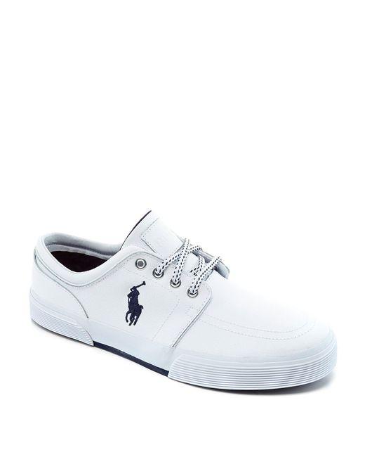 Polo Ralph Lauren - White Faxon Low Casual Sneakers for Men - Lyst