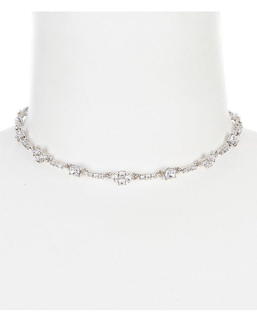 Givenchy | Metallic Faux-crystal Choker Necklace | Lyst