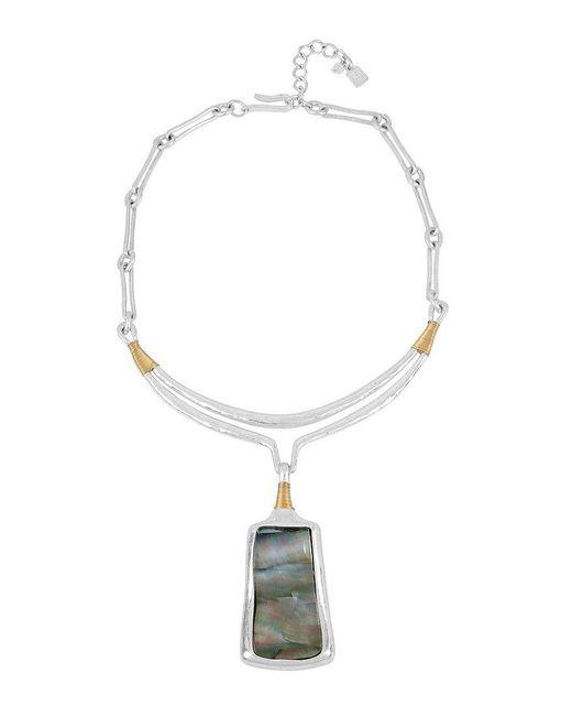 Robert Lee Morris   Metallic Sculptural Pendant Necklace   Lyst