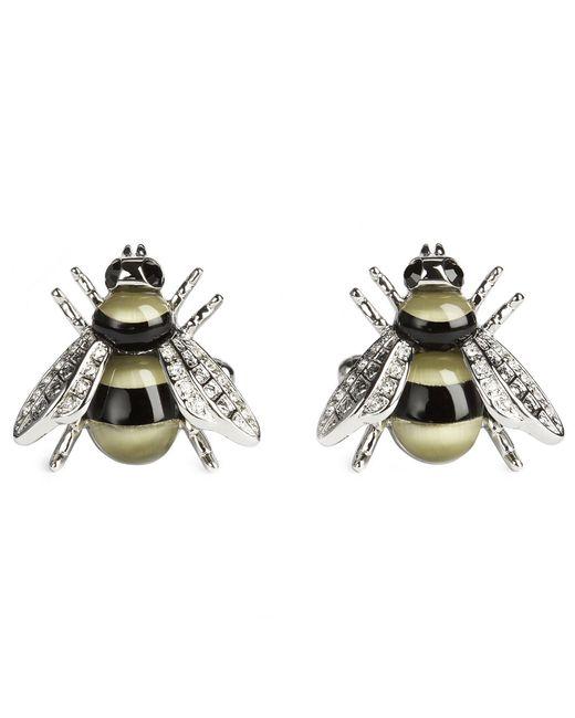 Simon Carter - Yellow Darwin Bee Cuff Links for Men - Lyst