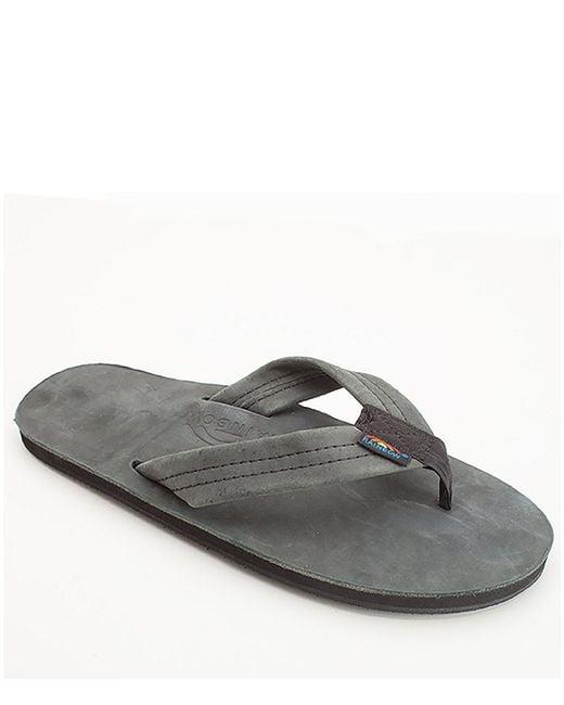 Rainbow Sandals - Black Premier Flip-flops - Lyst