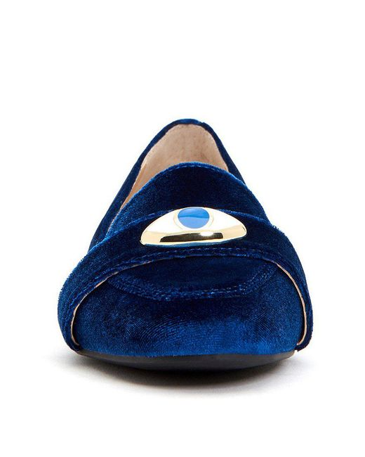 Katy Perry The Harper Eye Velvet Loafers dZVkVsp