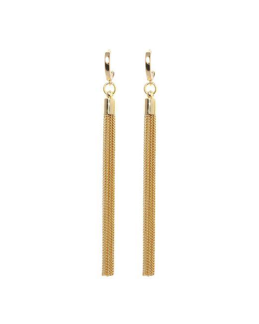 Vince Camuto - Metallic Museum Huggie Tassel Linear Earrings - Lyst