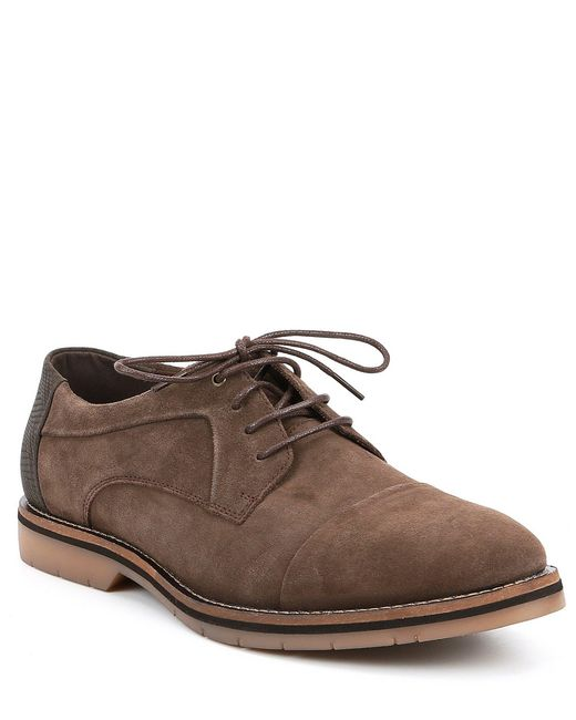 Steve Madden - Brown Men's Solemn Cap Toe Oxford for Men - Lyst