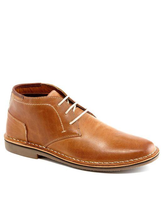 Steve Madden - Brown Hestonn Leather Desert Boots for Men - Lyst