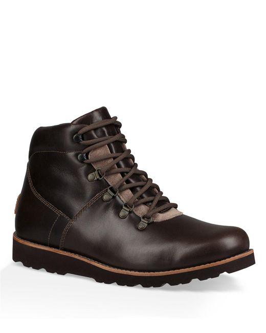 Ugg - Black Men's Hafstein Waterproof Boots for Men - Lyst