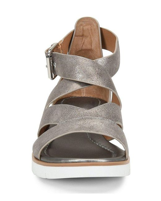 Mirabelle Metallic Leather Gladiator Sandals 6aPjtQ9N5