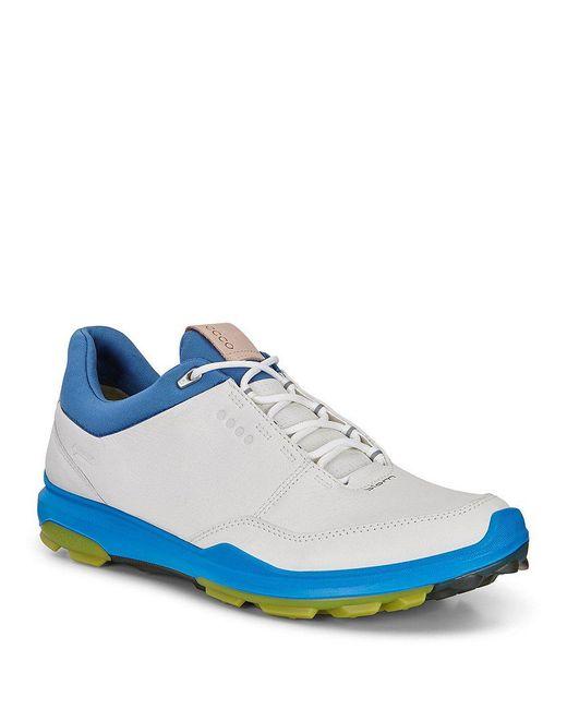Ecco - Blue Golf Biom Hybrid 3 Shoes for Men - Lyst