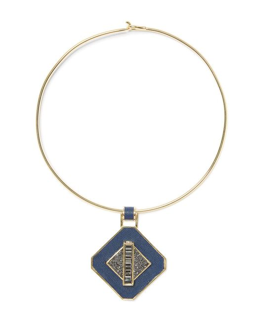 Vince Camuto - Metallic Wire Collar Necklace - Lyst